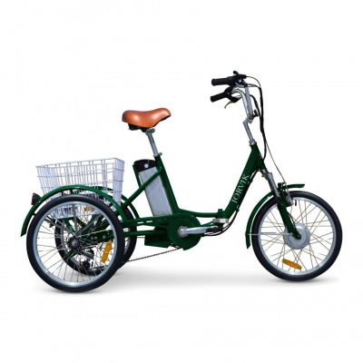 Jorvik Electric Folding Adult Tricycle 20''
