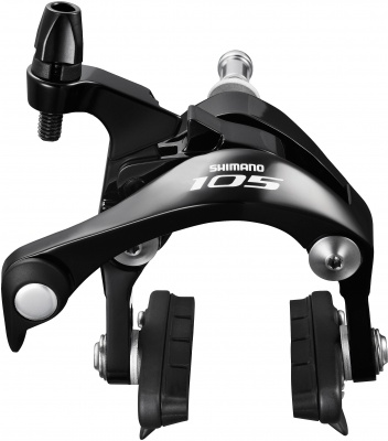 BR-5800 105 brake callipers, 49 mm drop, black, rear