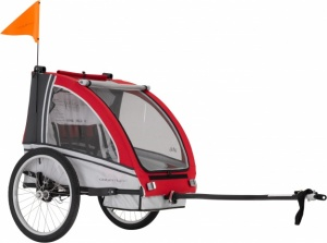 AT6 - alloy 2-seater bicycle trailer