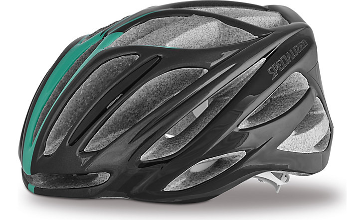 2015 Specialized Womens Aspire Helmet Black/Emerald