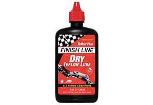 Finish Line Dry Bike Lubricant For Bike Chains: All Riding Conditions