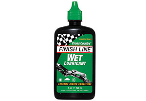 Finish Line Wet Bike Lubricant For Bike Chains: Extreme Conditions