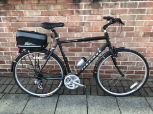 Pre owned : Ridgeback Comet Hybrid Bike ...fully equipped