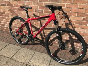 Cannondale SL3 Mountain Bike, fully upgraded with new parts.