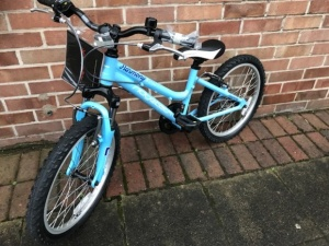 Ridgeback Harmony inch wheel bike, ex display