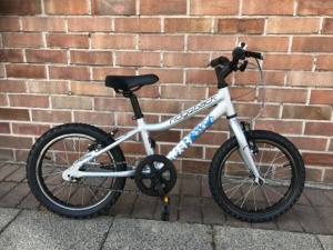 Ridgeback MX16 Boys Pre Owned silver