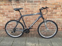 Cycle Hire Ridgeback MX4 Bike.