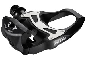 Shimano PD-5800 105 SPD-SL Road Pedals, Carbon