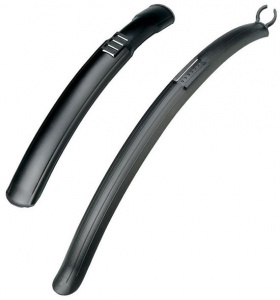 Raleigh Mudguards 700C Clip On Blk