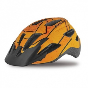 2019 Specialized Shuffle LED Mountain Bike Helmet in Orange